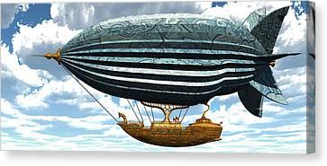 Aerial Alchemy Canvas Print by Diana Morningstar