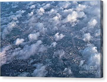 Aerial View Of The City Of London Canvas Print