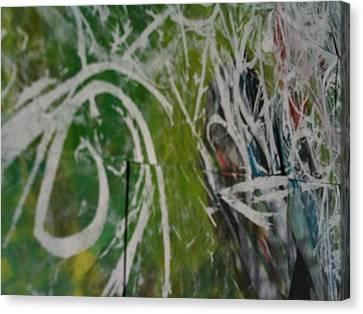 Aeueue Canvas Print by TripsInInk