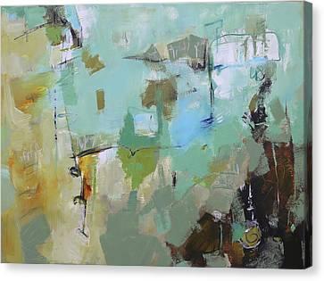 Afflable Canvas Print by Elizabeth Chapman