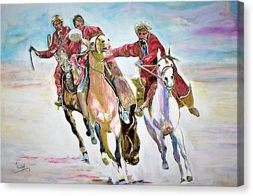 Afghan Sport. Canvas Print
