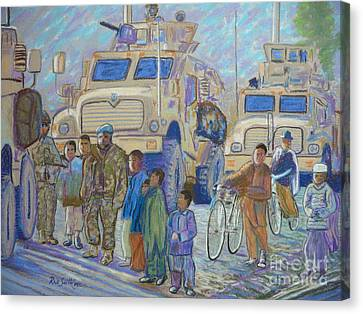 Afghanistan 2009 Canvas Print by Rae  Smith