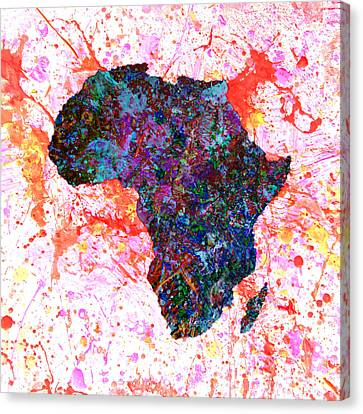 Discrimination Canvas Print - Africa 12a by Brian Reaves