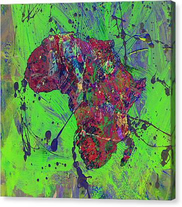 Discrimination Canvas Print - Africa 12b by Brian Reaves