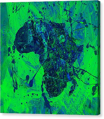 Discrimination Canvas Print - Africa 12c by Brian Reaves