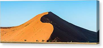 Africa Morning - Namibia Sand Dune Photograph Canvas Print by Duane Miller