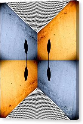African Abstract Canvas Print by Emilio Lovisa
