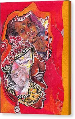 African Crown Canvas Print