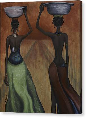 African Desires Canvas Print by Kelly Jade King