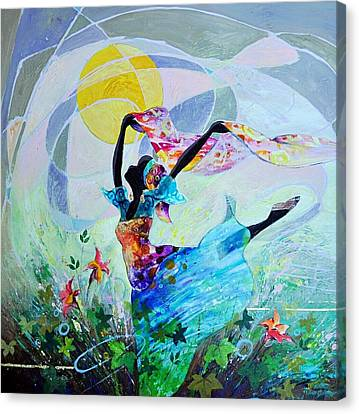 African Dream Canvas Print by Abdelwahab Nour