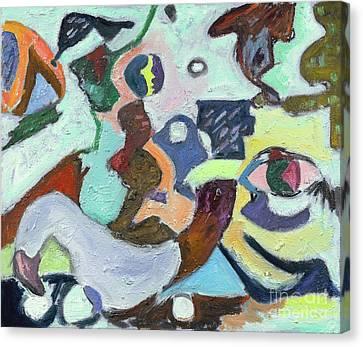 African Goddess God Series Canvas Print