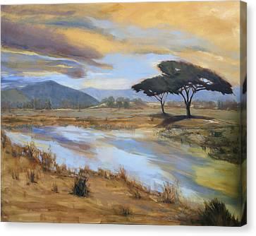 African Vista Canvas Print