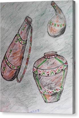 African Wares Canvas Print by John Ngaruiya