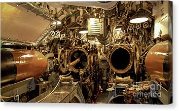 Aft Torpedo Tubes Canvas Print by Jon Burch Photography