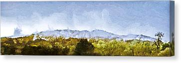 After An Early Spring Storm Canvas Print