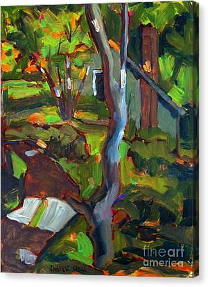 After Cezanne Tanna's Lane Canvas Print