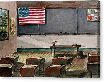 After Class Canvas Print by John Williams