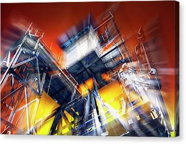 Canvas Print featuring the photograph After Effect by Wayne Sherriff