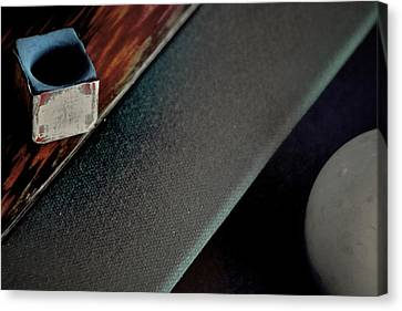 Curve Ball Canvas Print - After Hours by Odd Jeppesen