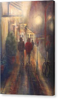 After Hours Canvas Print by Victoria Heryet