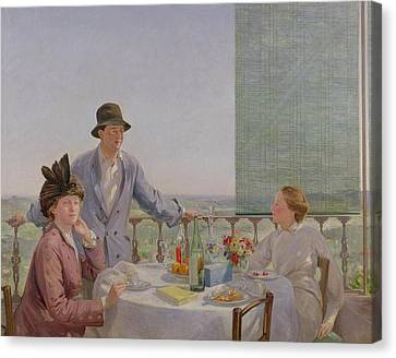 After Lunch Canvas Print by Gerard Chowne