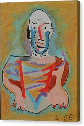 After Picasso Canvas Print by Harris Gulko