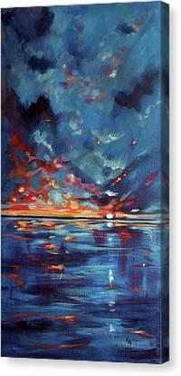 After Storm Canvas Print by Kovacs Anna Brigitta
