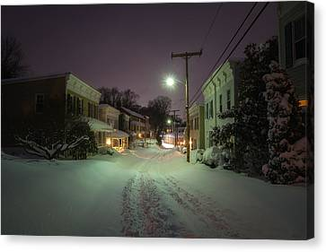 After The Blizzard, Oella Canvas Print