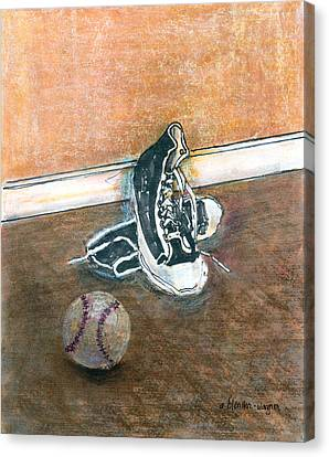 After The Game Canvas Print by Arline Wagner