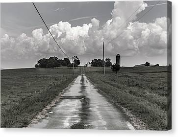 After The Rain In Readyville Canvas Print