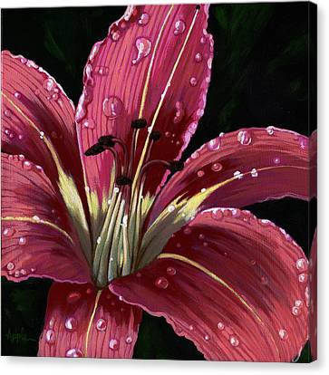 After The Rain - Lily Canvas Print