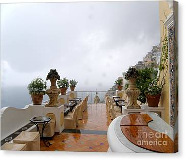 After The Rain. Positano Canvas Print