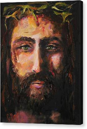 After The Scourging Canvas Print by Carole Foret