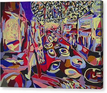 After The Show  Canvas Print by Tadeush Zhakhovskyy