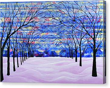 After The Snow Canvas Print by Rollin Kocsis
