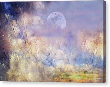 After The Storm Abstract Realism Canvas Print