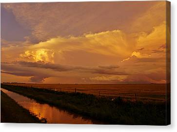 Canvas Print featuring the photograph After The Storm by Ed Sweeney