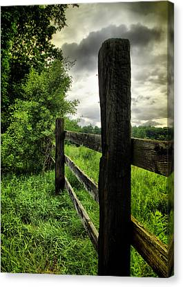 After The Storm Canvas Print by Edward Myers