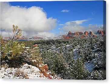 After The Storm Canvas Print by Gary Kaylor