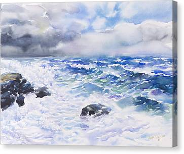After The Storm Canvas Print by Jack Tzekov