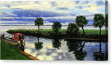 After The Storm Canvas Print by Rick McKinney