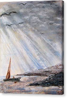After The Storm Canvas Print by Sherlyn Andersen
