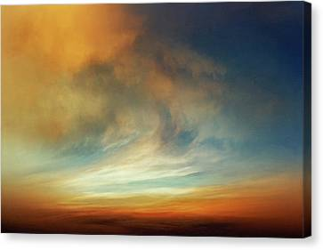 Afterglow Canvas Print by Lonnie Christopher