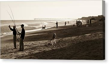 Afternoon At The Shore Canvas Print