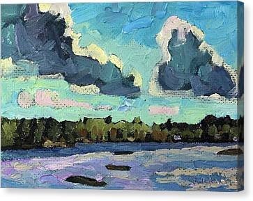 Afternoon Cold Front Canvas Print by Phil Chadwick