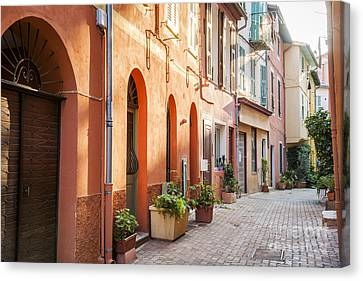 Afternoon In Villefranche-sur-mer Canvas Print