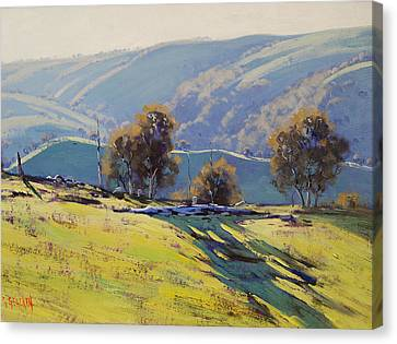 Afternoon Light Lithgow Canvas Print by Graham Gercken