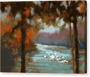 Canvas Print - Afternoon Sparkle by Donna Shortt