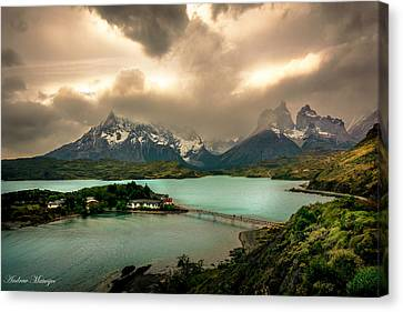Afternoon Storm Canvas Print by Andrew Matwijec
