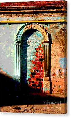 Afternoon Sun Canvas Print by Mexicolors Art Photography